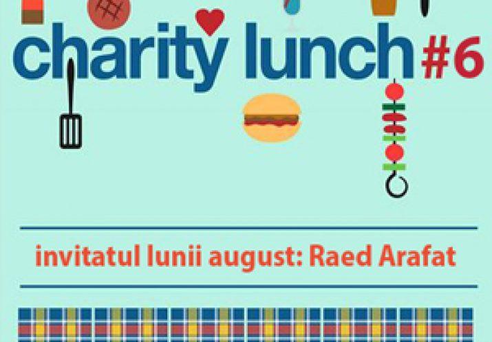 Prânz caritabil cu Raed Arafat